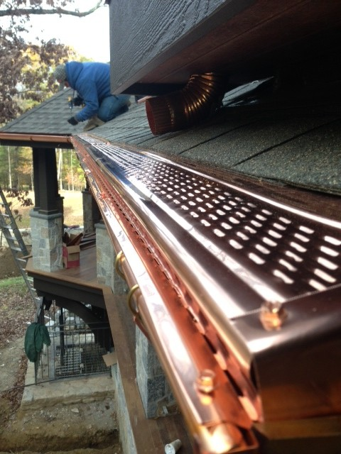 Copper Gutter Installation Putnam County NY